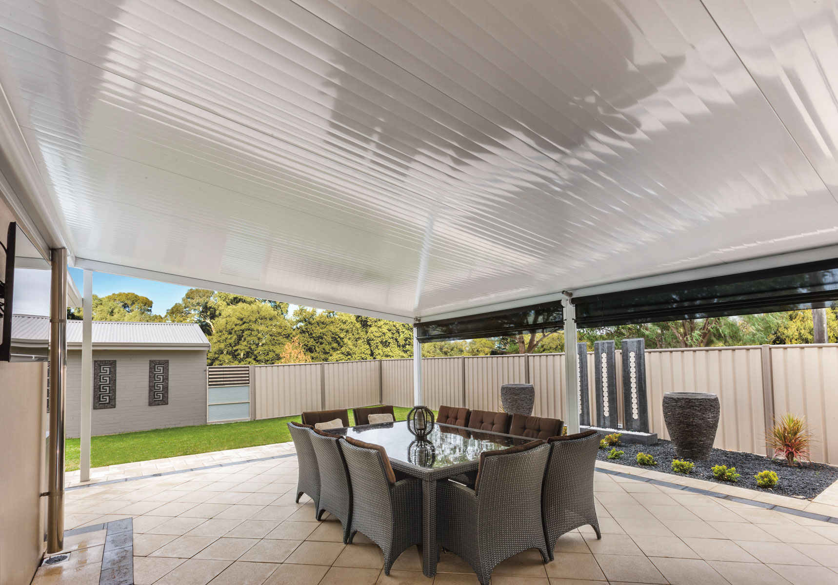 Cooldek Insulated Patio Roofing Panels