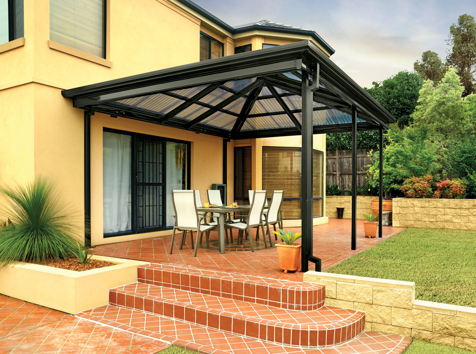 Patios With A Gazebo Style Roof Hip End Or Gazebo Roof Patio